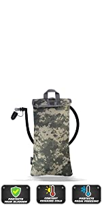 FREEMOVE hydration bladder bag cooler bag protective sleeve 2L 3L water bag insulating pouch pack