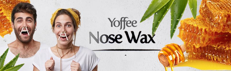 Yoffee cire pour le nez