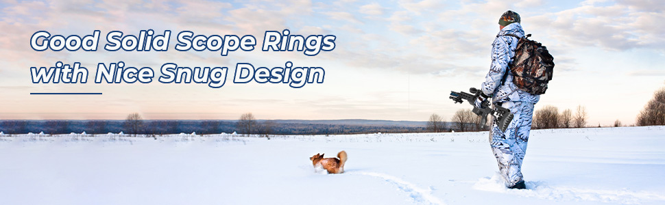 Solid Scope rings