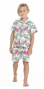 Hawaii Hangover Boy's Hawaiian Cabana Seta Matching Sets