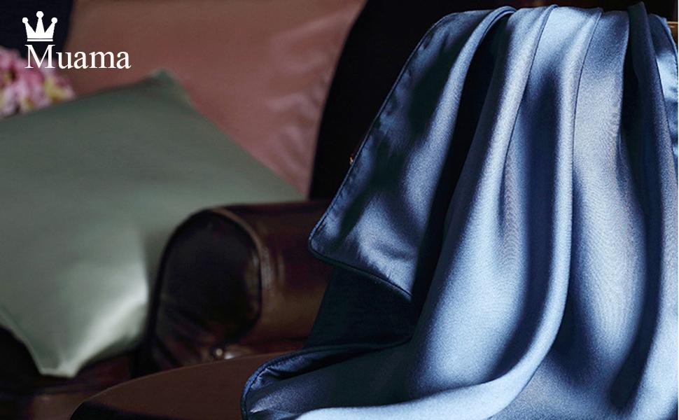 Muama satin silky pillowcases