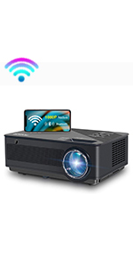 Native 1080p Full HD wifi projector