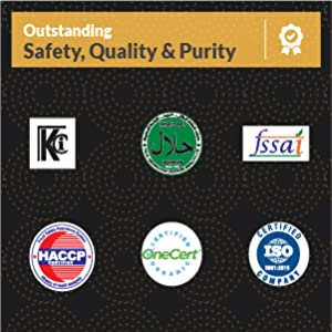 Safety, quality Purity