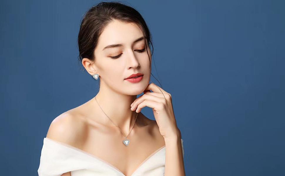 ladies opal jewelry sets