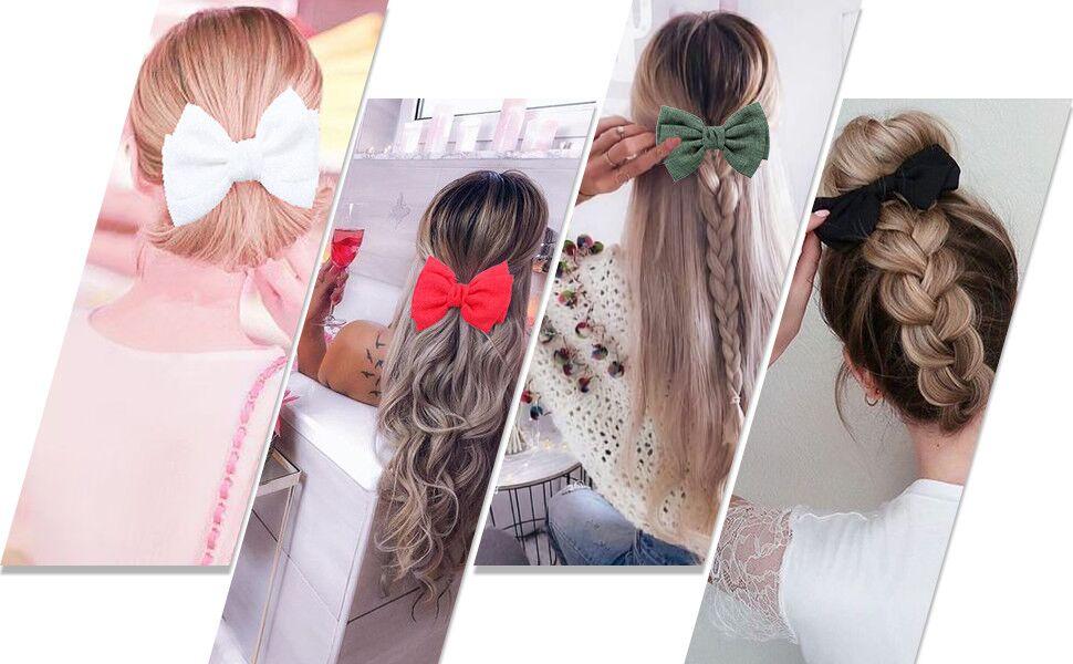 Baby Pink Paisley Design cheveux arcs minces Bobbles ou clips cheveux bébé cheveux arcs