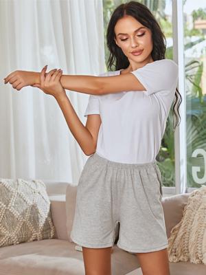 womens soft lounge shorts