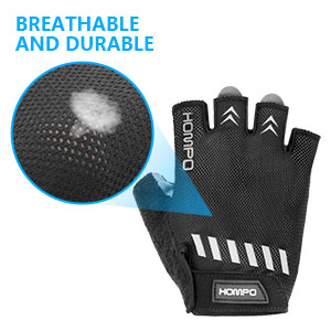 HOMPO Anti-slip Cycling Gloves Mountain Bicycle Cycle Racing Gloves Half Finger