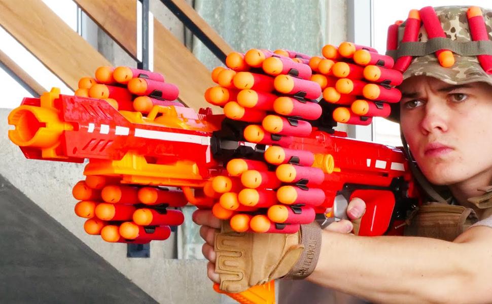 Coodoo Mega Darts 60 PCS Refill Pack Compatible Mega Bullets for Nerf N-Strike M