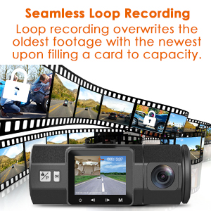 loop recor ding dashcam