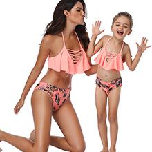 besbomig Niñas Niños Dos Pieces Bikini Set Conjunto de Bikini Traje de baño Bañador Swimwear para Chicas 2 años -8 años