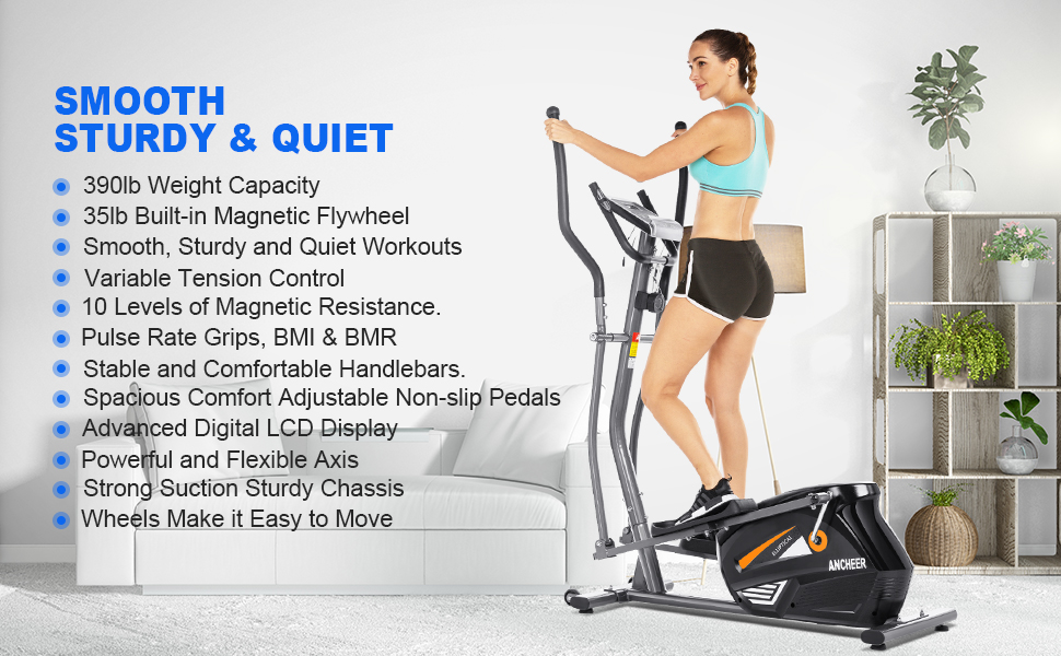 elliptical machine trainer