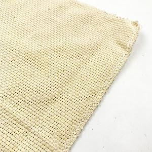 DMC TC8436-6750 Silver Label Aida Cloth with Soft Tube 15 by 18-Inch White