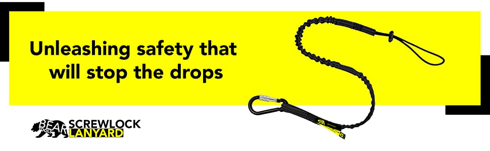 lanyard tool lanyards tether tools fishing fall protection carabiner retractable arrest tethering