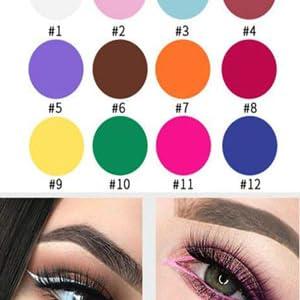 hot pink eyeliner