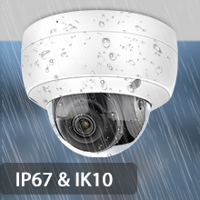 4mp hikvision ip camera security camera  poe dome 2.8mm outdoor with SD Card IP67 Weatherproof ONVIF