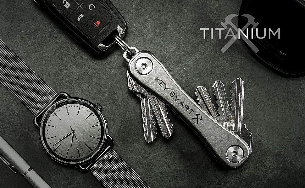 KeySmart Rugged Titanium