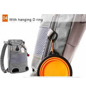 details of dog backpack 300-4