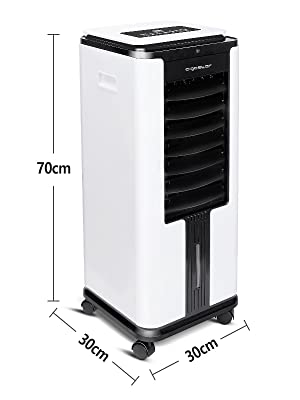 Aigostar Elsa 33QNU- Climatizador evaporativo con mando a ...