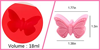 silicone molds chocalate molds silicone cupcake muffin decoration butterfly butter nuts