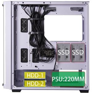 gaming pc case computer case atx case mid tower case pc case desktop case gaming case rgb pc case