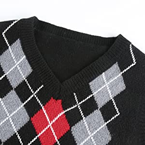 V neck sweater vest