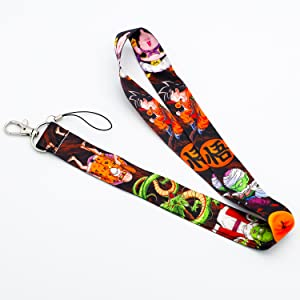 Details about  /Dragon Ball Lanyard /& Keychain set
