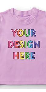 camiseta personalizada para niños