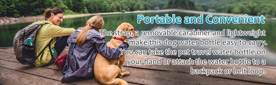 Portable and Convenient Pet Water Bottle