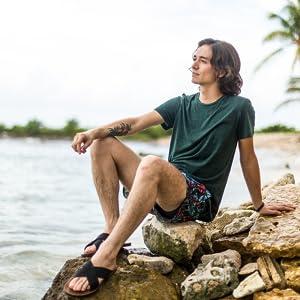 sandals men beach urban casual