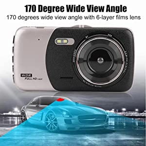 170° Wide Angle Front Views