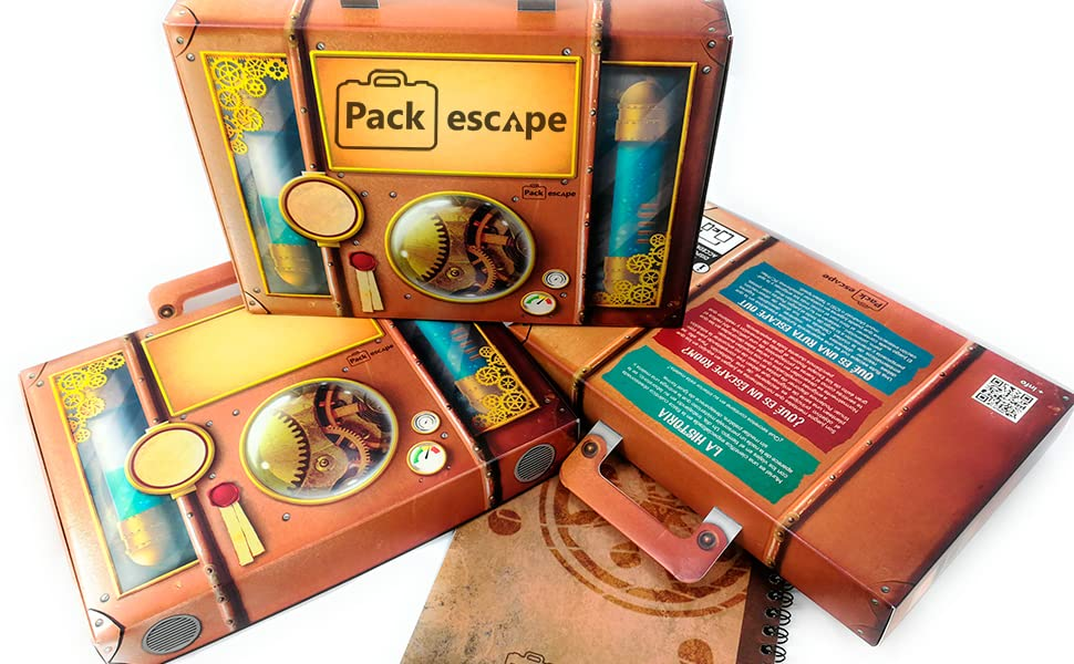 Pack Regalo Experiencia Escape Room. Un regalo original, diferente y divertido. Una experiencia inolvidable.Personaliza tu regalo escogiendo ciudad (Sitges (Barcelona)): Amazon.es: Juguetes y juegos