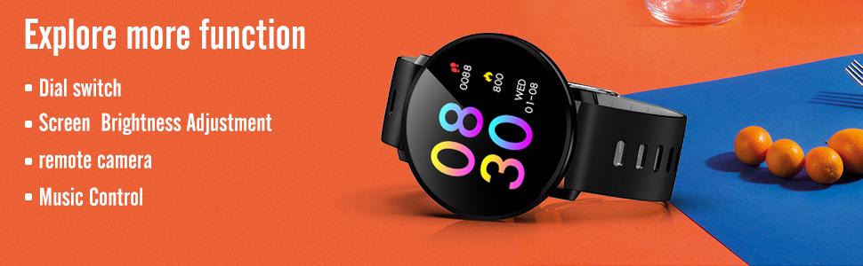 Y16 Smartwatch functions