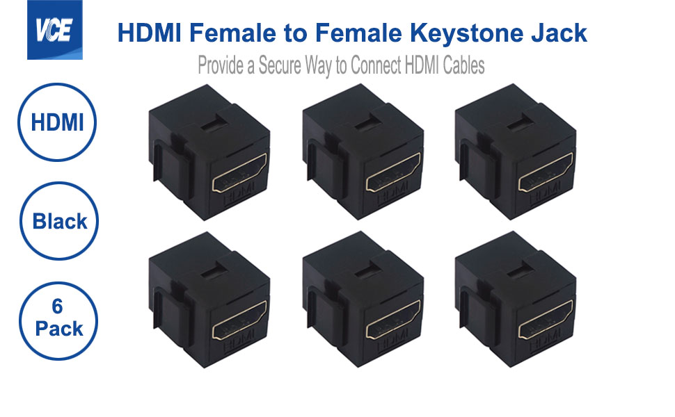 HDMI Female to Female Mini Adapter