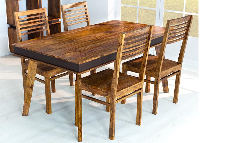 AISER Royal Massive Echt Holz Palisander Esszimmer Stühle