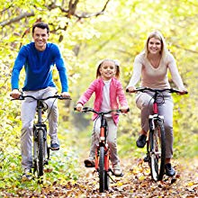 Enjoy Cycling with Your Families