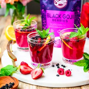 Black Goji Berries Versatility
