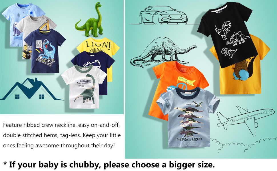 3-Packs with 3 different colors- unbeatable value &   different choice for each day. Size 2-7 Years.