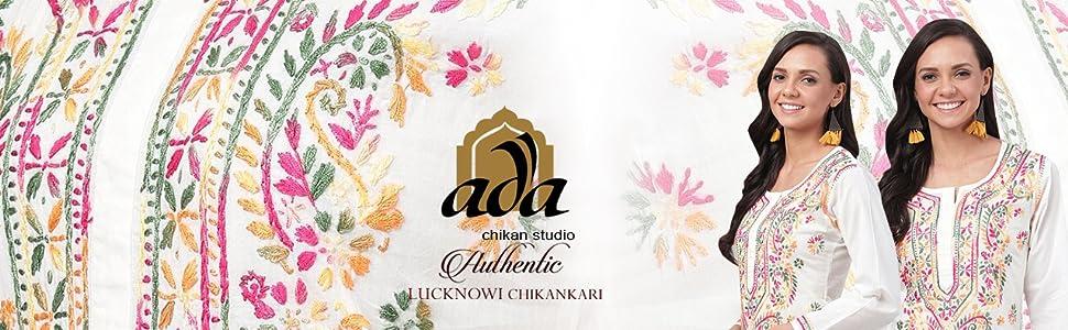 Ada Needlecrafted Lucknow Chikan