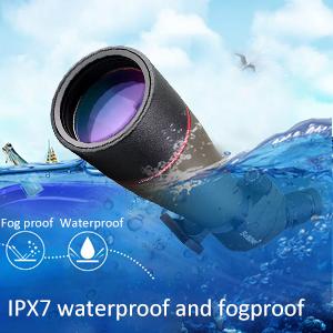 waterproof spotting scope