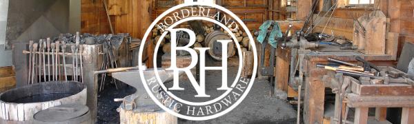 borderland rustic hardware hand forged quality corner shelf brackets door clavos handles hinges