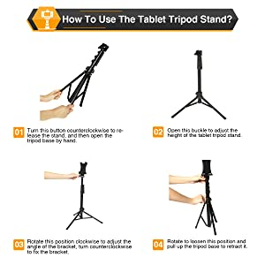 How To Use The Tablet Stand?