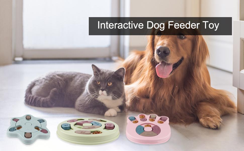 Interactive Dog Feeder Toy