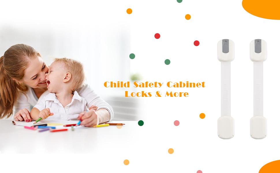 Child Safety Cabinet Locks Straps