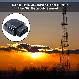 4G tracker, 3G network sunset