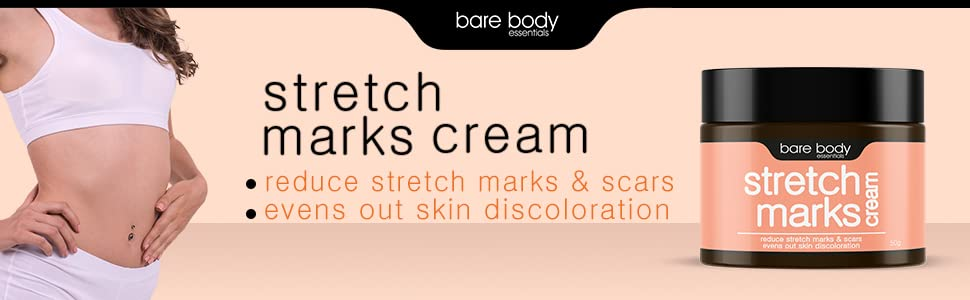 Bare Body Essentials Stretch Marks Cream