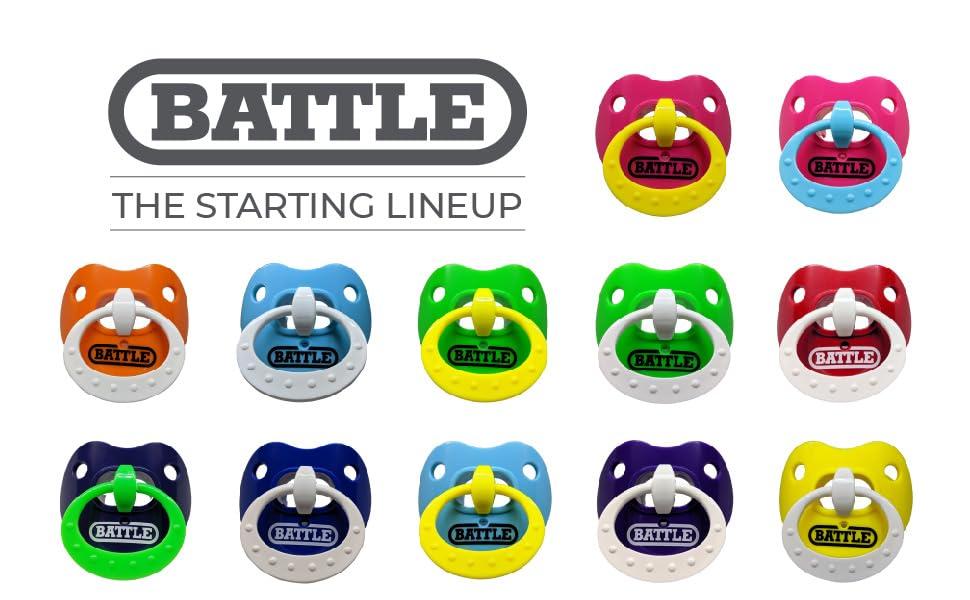 Battle Binky Football Mouthguard