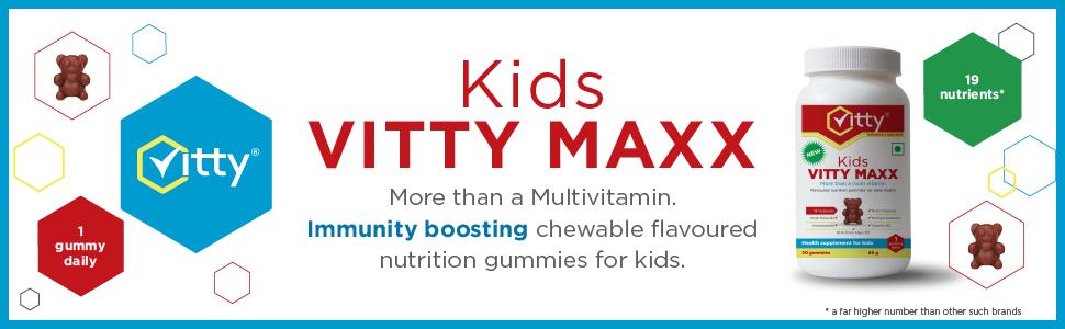 Multi Vitamins, Multi Minerals, Antioxidants gummies for kids