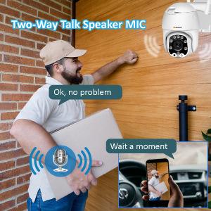 Two-Way Talk Speaker MIC