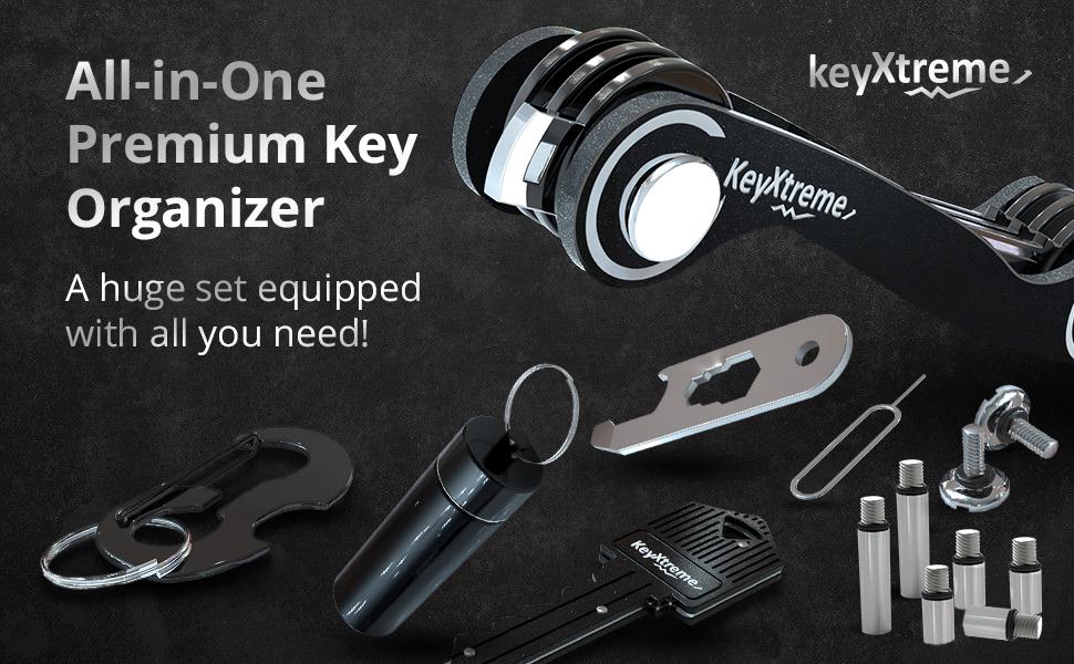 Keysmart organizer keychain organizer