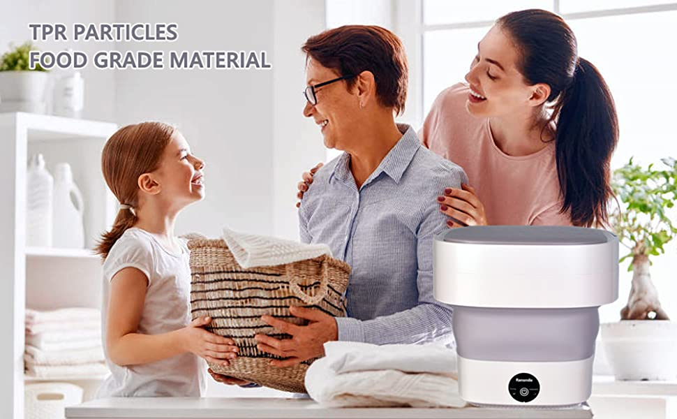 Complete renewal of the third-generation portable washing machine